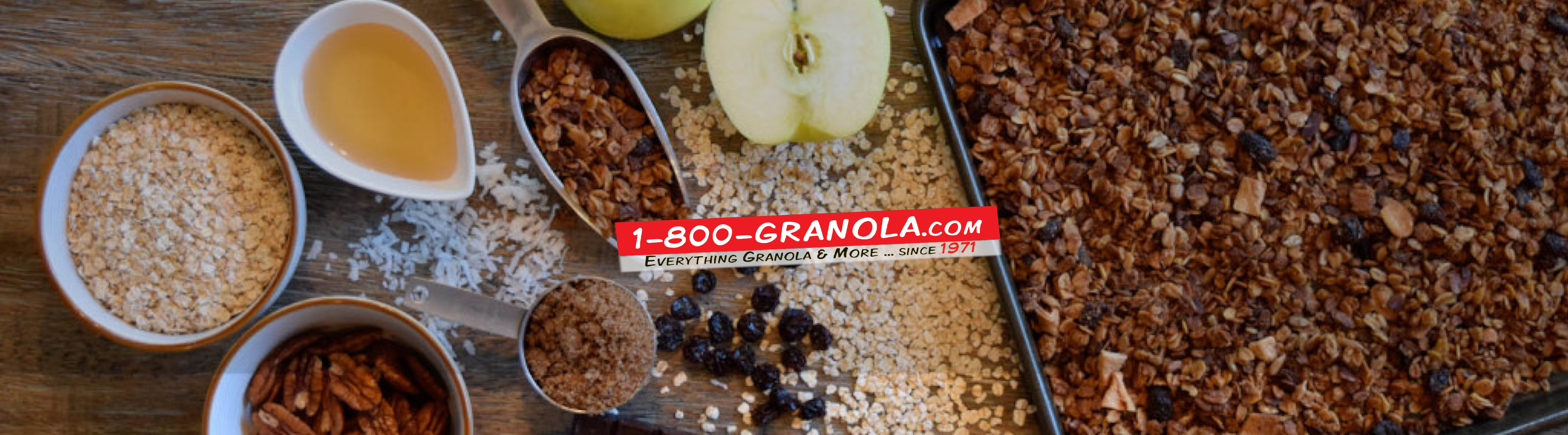 BAKE YOUR OWN GRANOLA