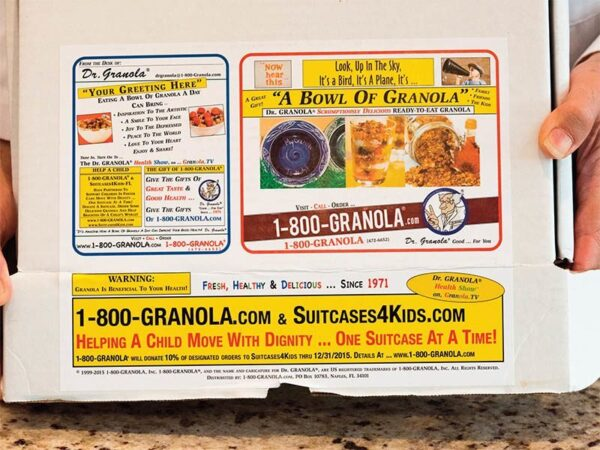 Ready To Eat Granola Gift Sampler Box