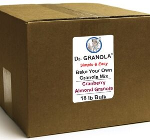 Cranberry Almond Granola Commercial Bulk