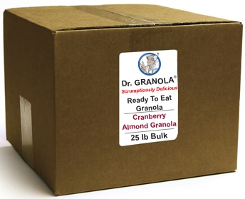 Cranberry Almond Granola 25 lbs