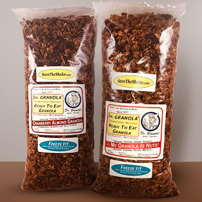 Dr. GRANOLA® Scrumptiously Delicious Ready-To-Eat Granola 2 Pack