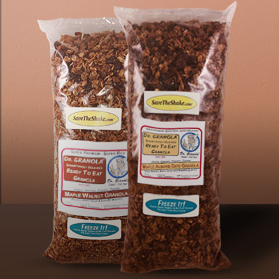 (2 Pack) Dr. GRANOLA® Scrumptiously Delicious Ready-To-Eat Maple Sweentened Granola